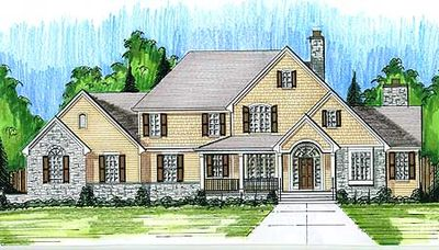 Stately Home Plan - 39171ST thumb - 01