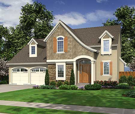 Signature swooping roof 39181st architectural designs for Signature house plans