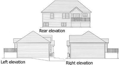 Bi-Level Home Plan - 39197ST thumb - 04