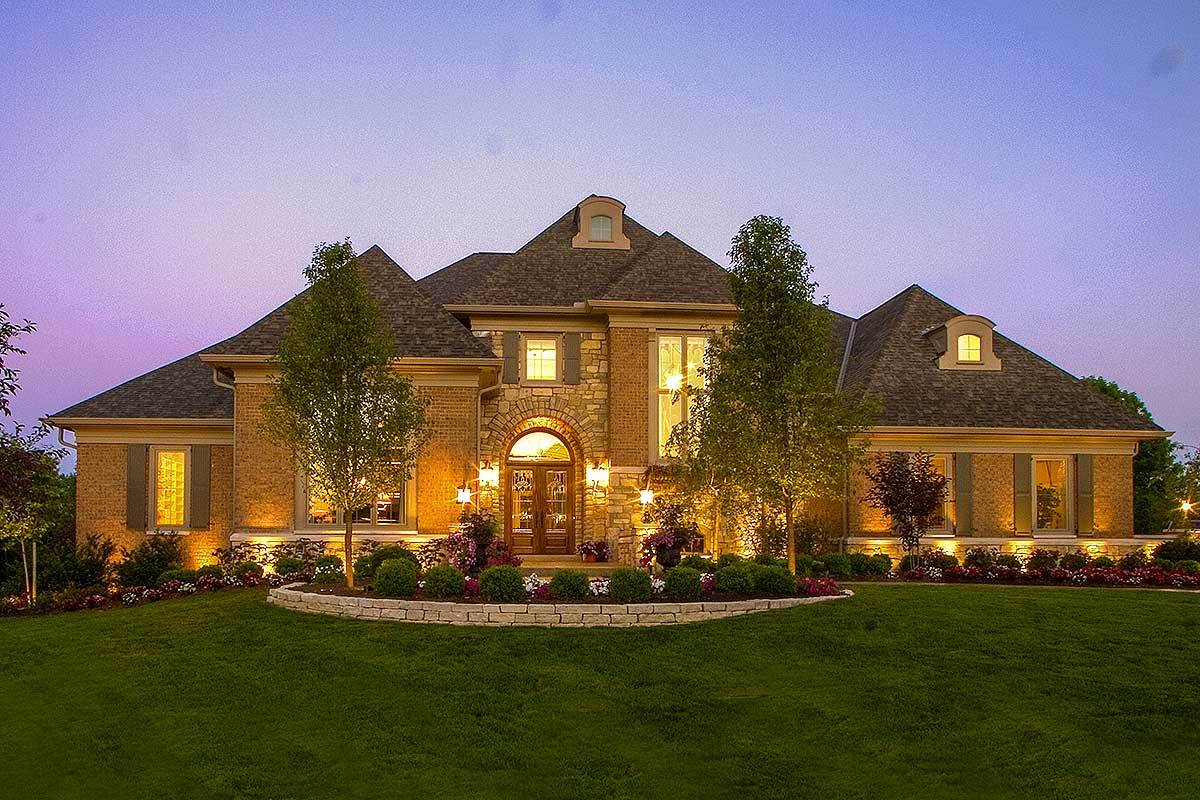 Luxury European House Plan 39201st Architectural