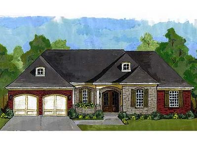 french country ranch 39203st thumb 01 - French Country Ranch House Plans
