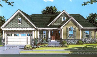 Delightful Home Plan - 3927ST thumb - 01