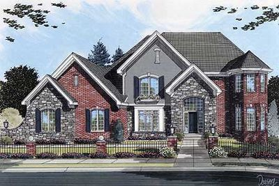 Inviting Home Plan - 3975ST thumb - 01