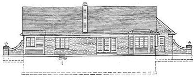Expandable three bedroom ranch 3993st architectural for Expandable ranch house plans
