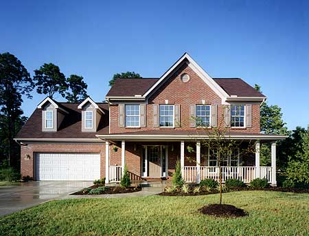 Front to rear great room 3999st 2nd floor master suite for House plans with great room in front