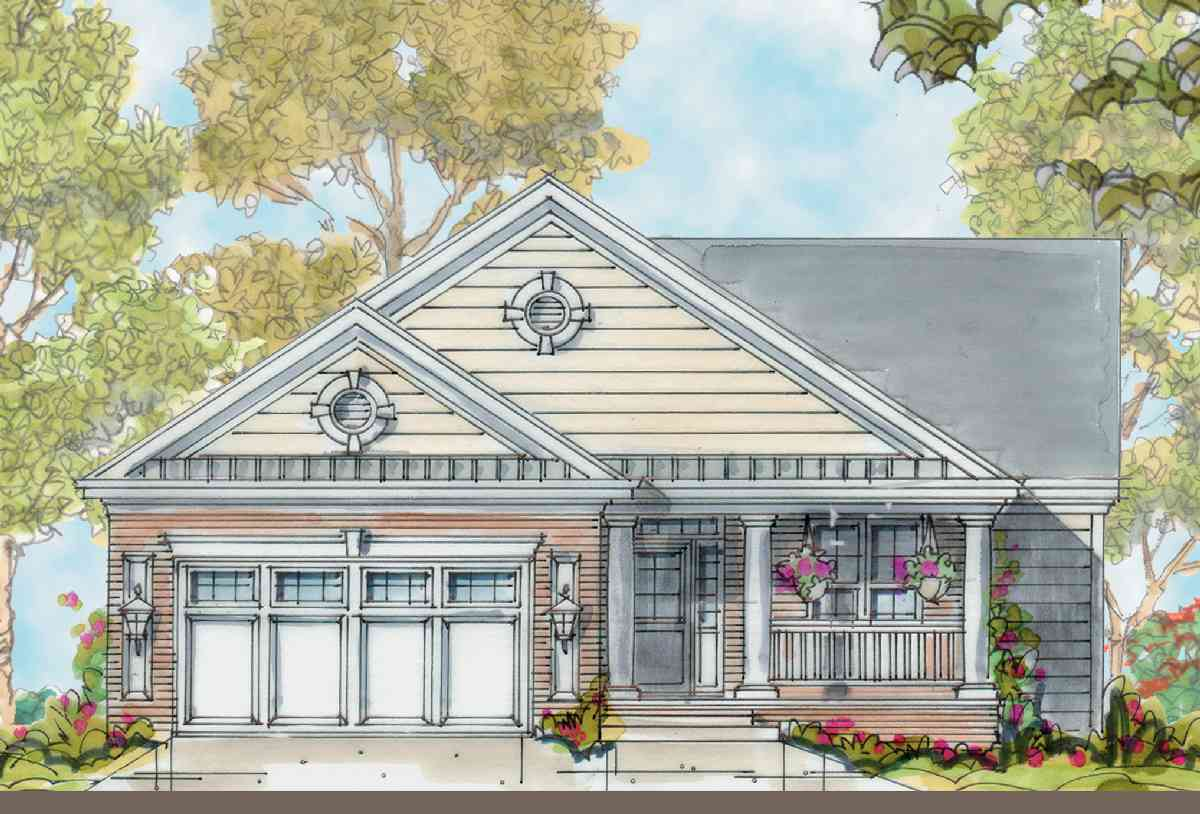 Classic Cottage With Options 40058db Architectural