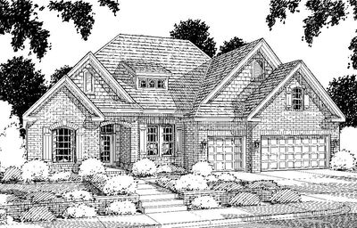 Southern House Plan with Optional Game Room - 40070WM thumb - 02