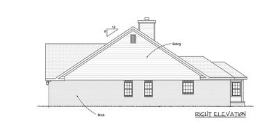 Two Bedroom Cottage 40179wm Architectural Designs