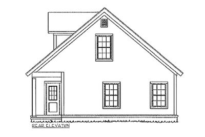 Flexible Two-Story Cottage - 40514WM thumb - 02