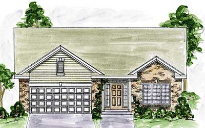 Two-Bedroom House Plan with Options - 40524DB thumb - 01