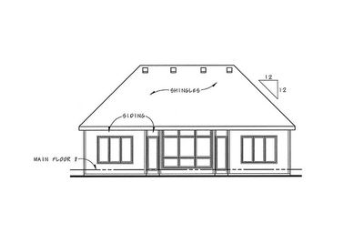 Two-Bedroom Home Plan with Options - 40526DB thumb - 02