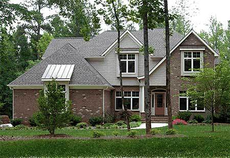 Easy entertaining 4063db architectural designs house for Large home plans for entertaining