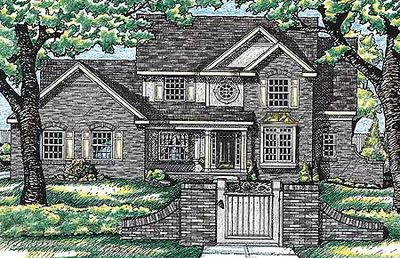 Icf house plan 40770db architectural designs house plans for Icf building plans