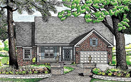 ICF House Plan 40815DB 1st Floor Master Suite CAD Available