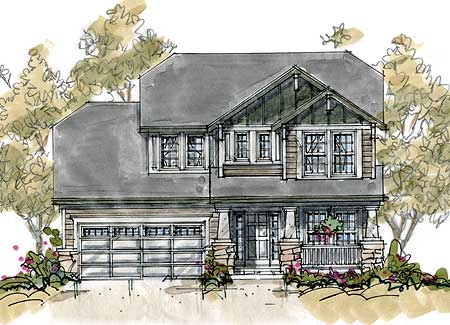 Sip house plan 40846db 1st floor master suite cad for Sip house plans craftsman