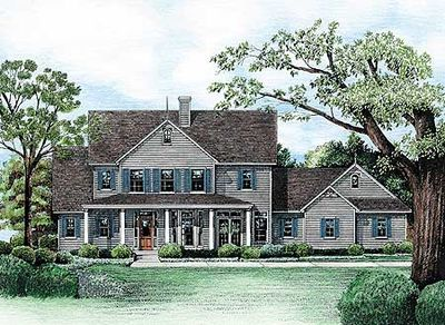 Lots Of Bay Windows 40849db Architectural Designs
