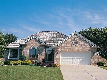 Perfect for downsizing 41001db architectural designs for Downsize home plans