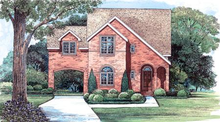 Porte Cochere Home Design House Design Plans