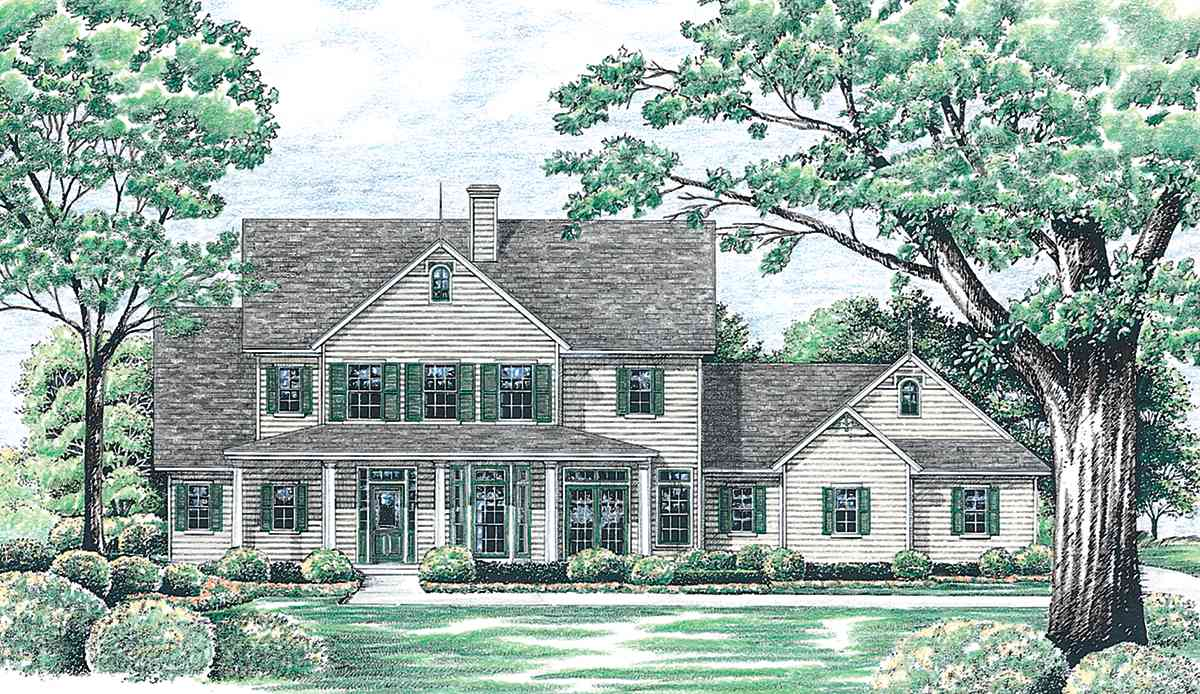 Lots of bay windows 4116db 1st floor master suite cad for House plans with lots of windows