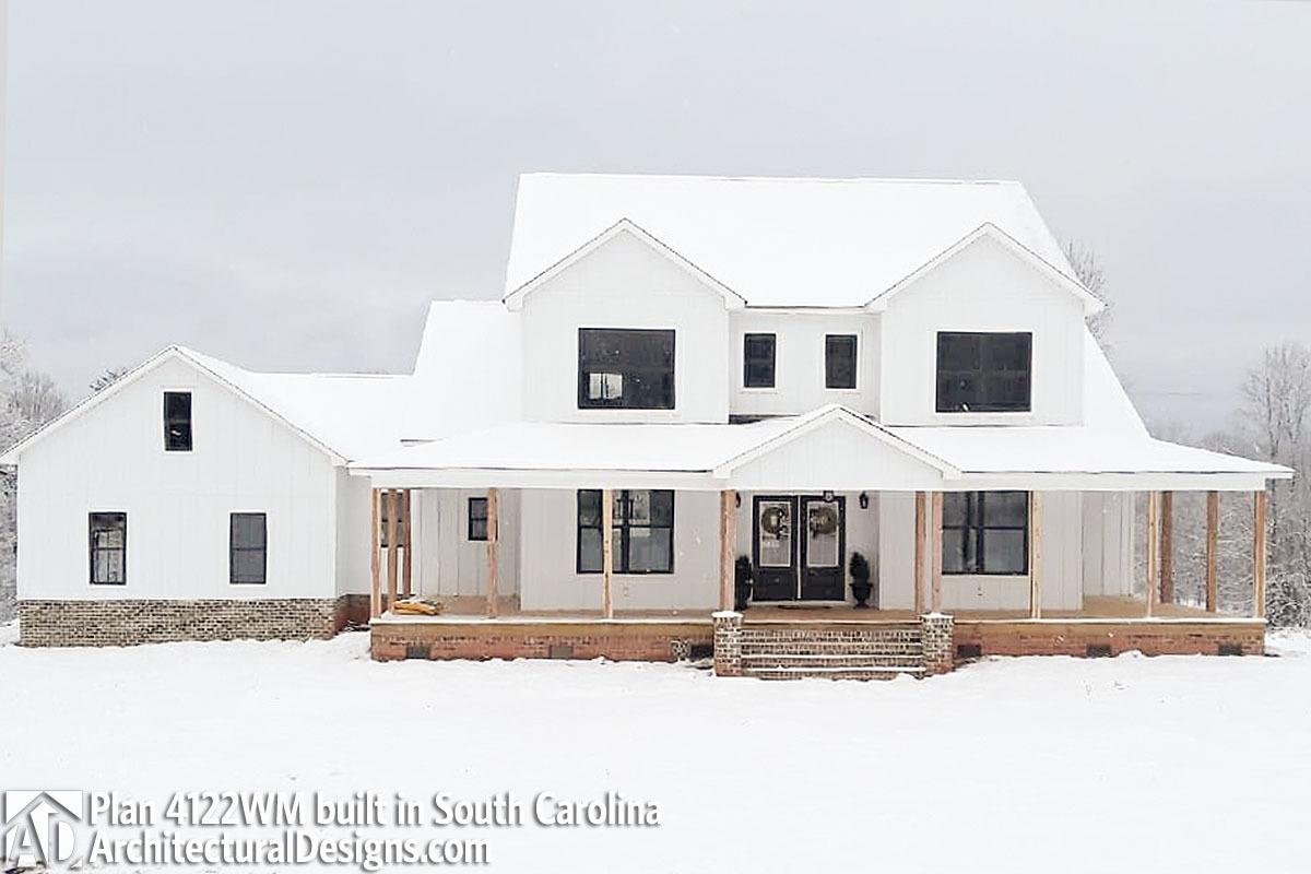 Wonderful House Plan 4122WM Comes To Life In South Carolina   Photo 001