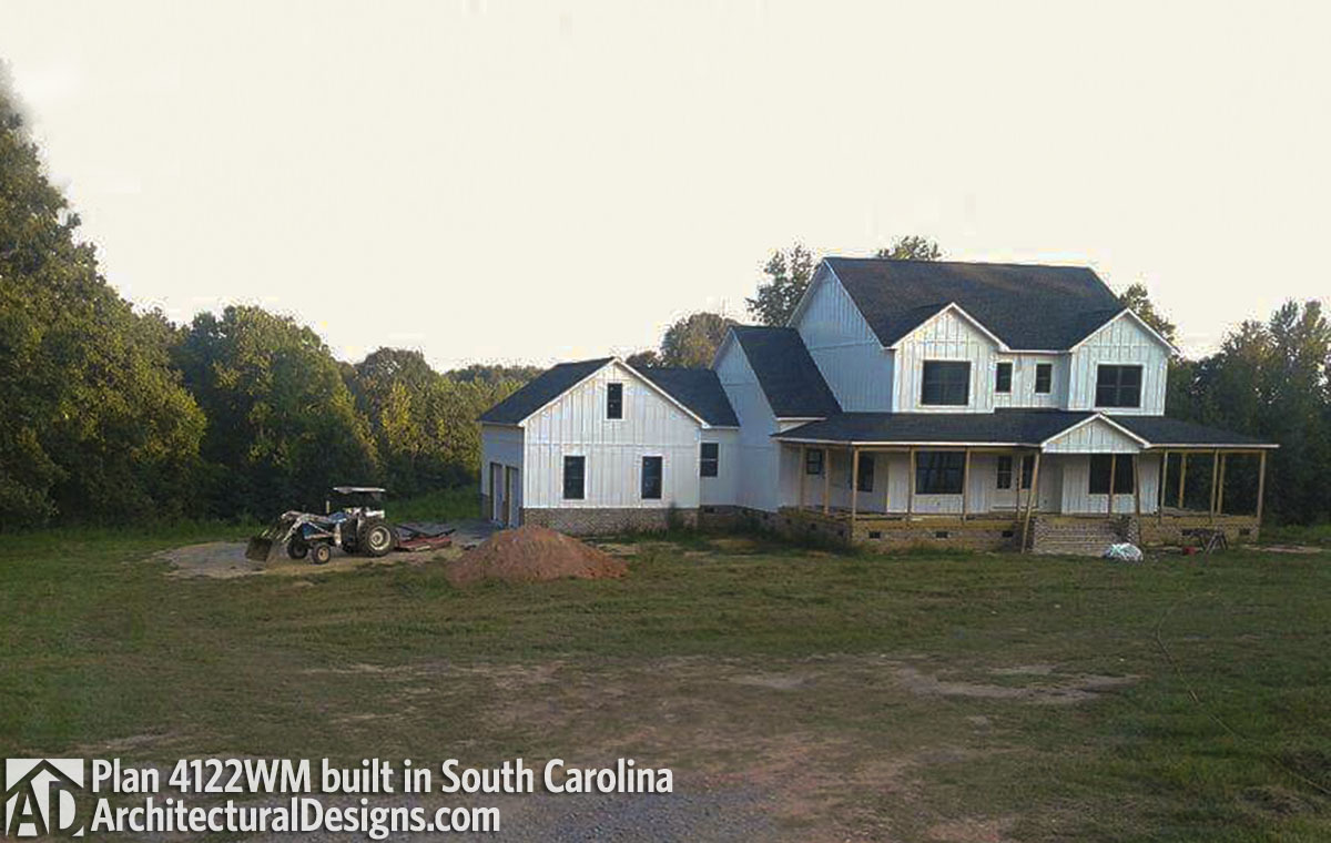 House Plan 4122wm Comes To Life In South Carolina