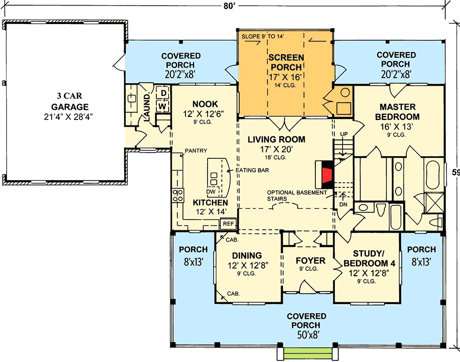 Architectural designs for Floor plans you can modify