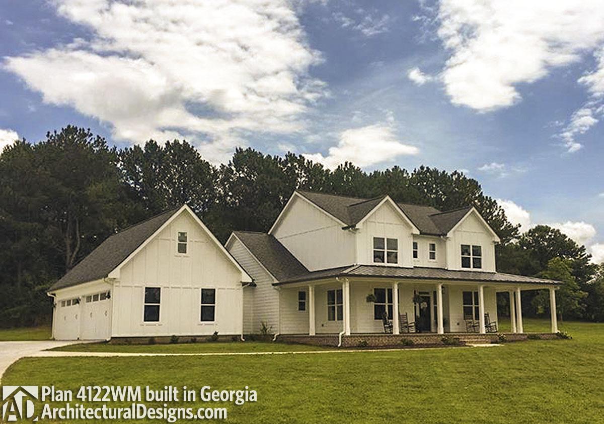 House Plan 4122WM Comes To Life In Georgia!   Photo 001
