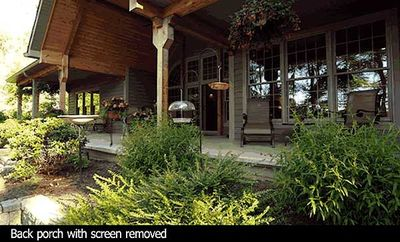 Country Home Plan With Marvelous Porches - 4122WM thumb - 12