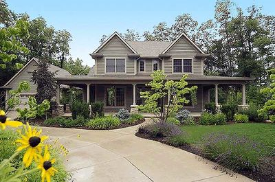 Country Home Plan With Marvelous Porches - 4122WM thumb - 06