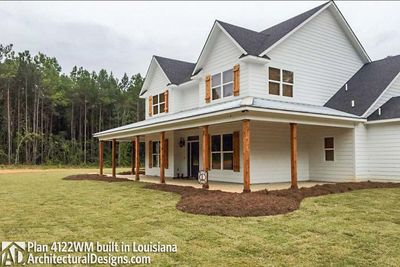 Photo 001 House Plan 4122WM Comes To Life In Louisiana!