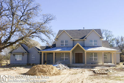 Farmhouse Plan 4122WM comes to life in Texas - photo 011