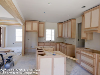 Farmhouse Plan 4122WM comes to life in Texas - photo 016