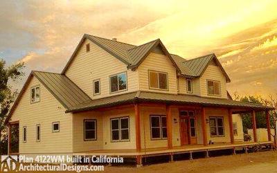 Photo 002 House Plan 4122WM Built In Reverse In California!