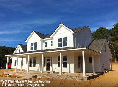 Photo 001 House Plan 4122WM Comes To Life In Georgia!