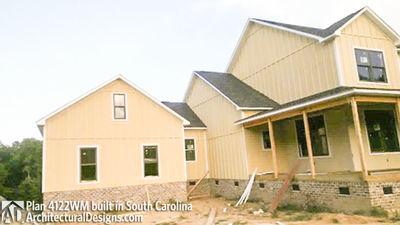 House plan 4122wm comes to life in south carolina for South carolina home plans
