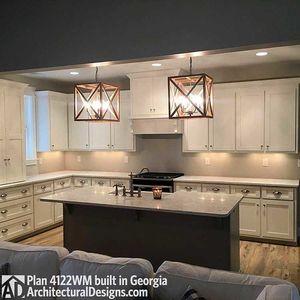 Photo 004 House Plan 4122WM Comes To Life In Georgia!