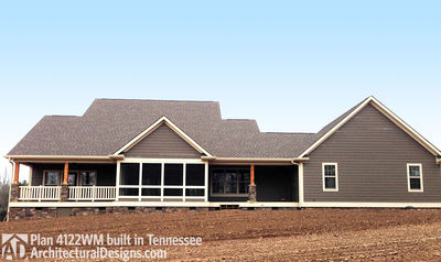 House Plan 4122WM comes to life in Tennessee! - photo 002