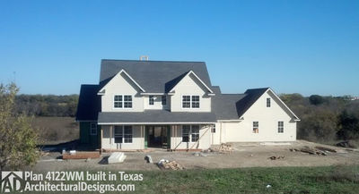 Perfect Photo 003 House Plan 4122WM Comes To Life In Texas!