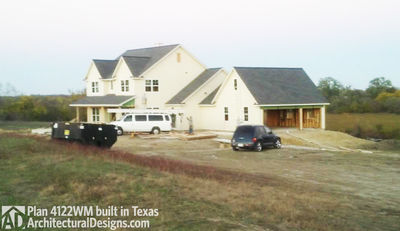 Great Photo 004 House Plan 4122WM Comes To Life In Texas!