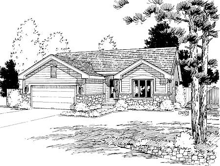 Expandable ranch house plan 41802db architectural for Expandable ranch house plans