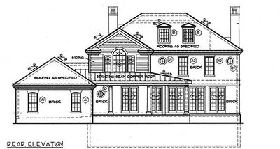 Stately Georgian Home Plan 41977db Architectural