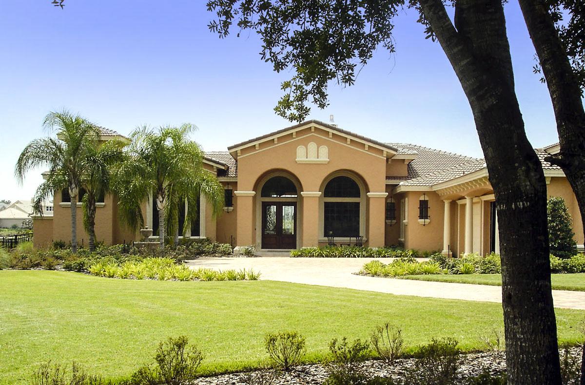Opulent Mediterranean House Plan - 42042MJ