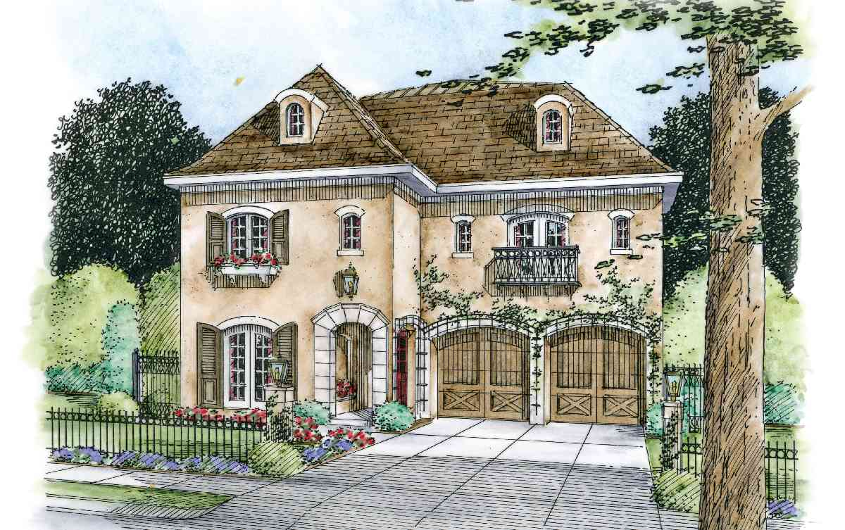 Classy 4 bed with vaulted loggia 42163db architectural for Loggia house