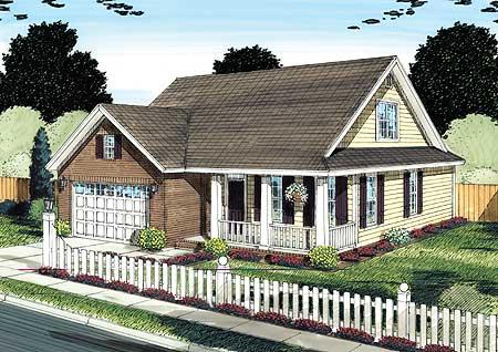 Flexible Cottage House Plan 42244wm 1st Floor Master