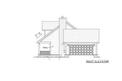 Farmhouse Plan with Upstairs Game Loft - 42246WM thumb - 04