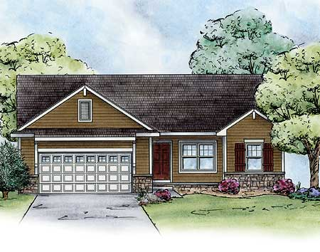 Cozy ranch home plan 42284db architectural designs for Cosy house plans