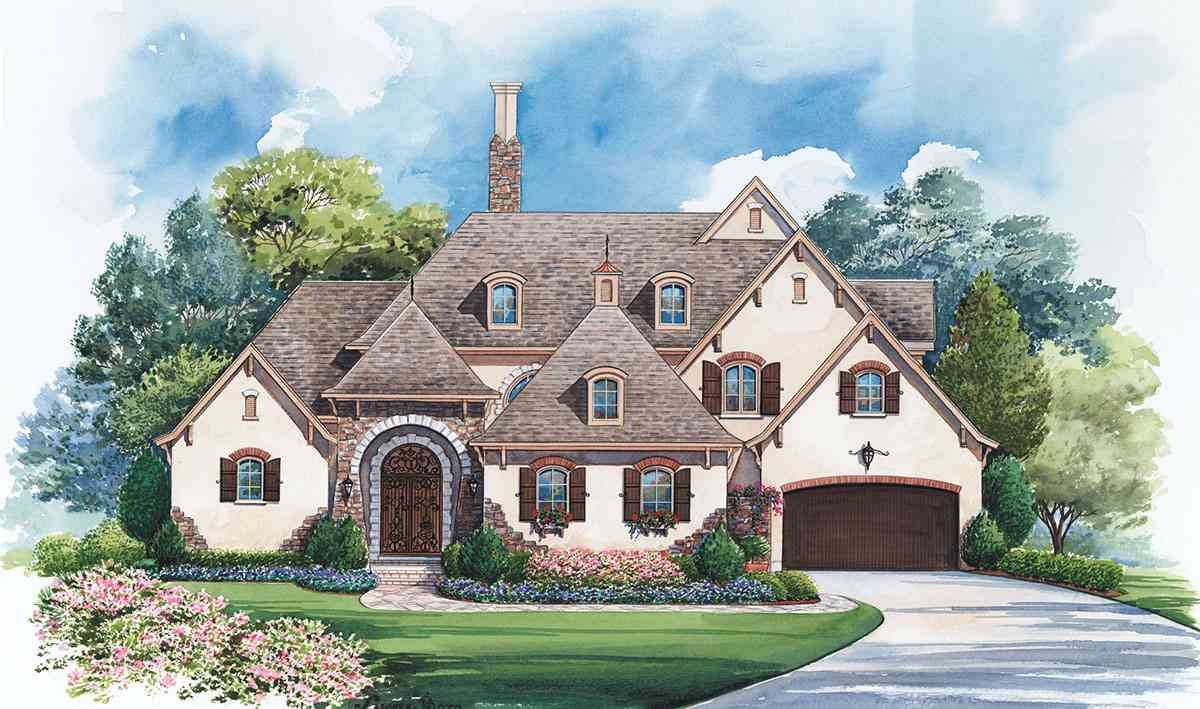 Gracious French Country Manor 42294db Architectural