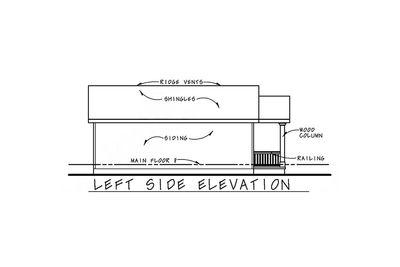 Cozy 2 Bed Tiny House Plan - 42332DB thumb - 03