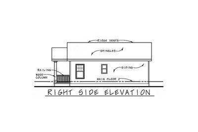 Cozy 2 Bed Tiny House Plan - 42332DB thumb - 04
