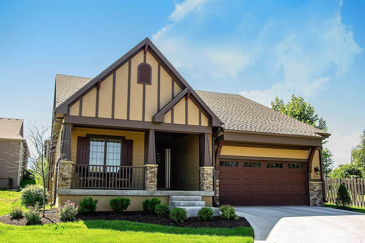 3 bed craftsman with options 42341db architectural for Architectural designs com